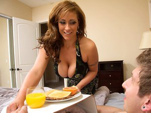 Eva Notty fucks her sons friend